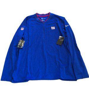 NWT New York Giants Nike 1/2 Zip Sideline Jacket